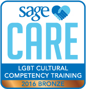 SAGECare LGBT Cultural Competency Bronze Training Certificate - 2016