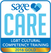 SAGECare LGBT Cultural Competency Gold Training Certificate - 2016