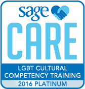 SAGECare LGBT Cultural Competency Platinum Training Certificate - 2016