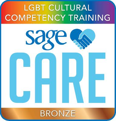 SAGECare LGBT Cultural Competency Bronze Training Certificate