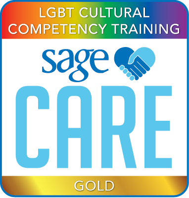 SAGECare LGBT Cultural Competency Gold Training Certificate
