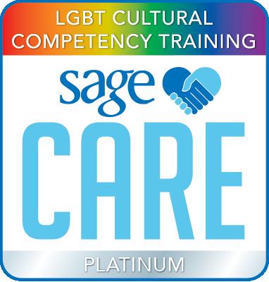 SAGECare LGBT Cultural Competency Platinum Training Certificate