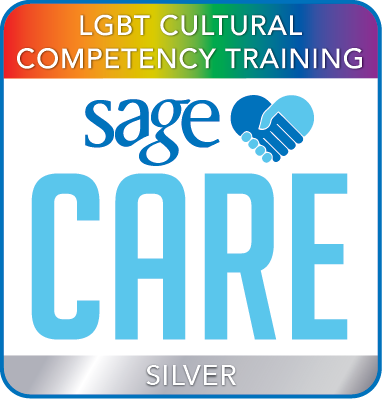 SAGECare LGBT Cultural Competency Silver Training Certificate