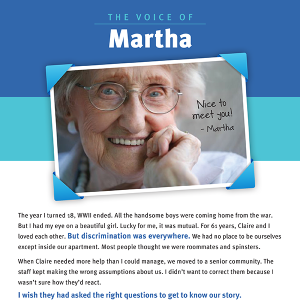 The Voice of Martha - Brochure