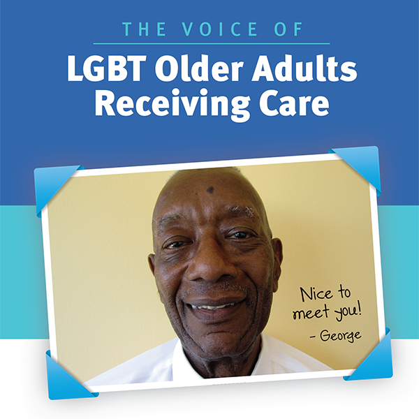 LGBT Older Adults Receiving Care - Brochure