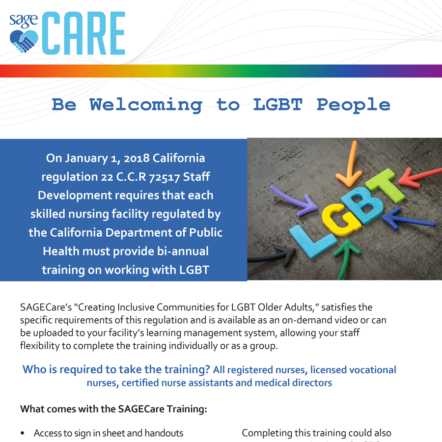 SAGECare-California-Training