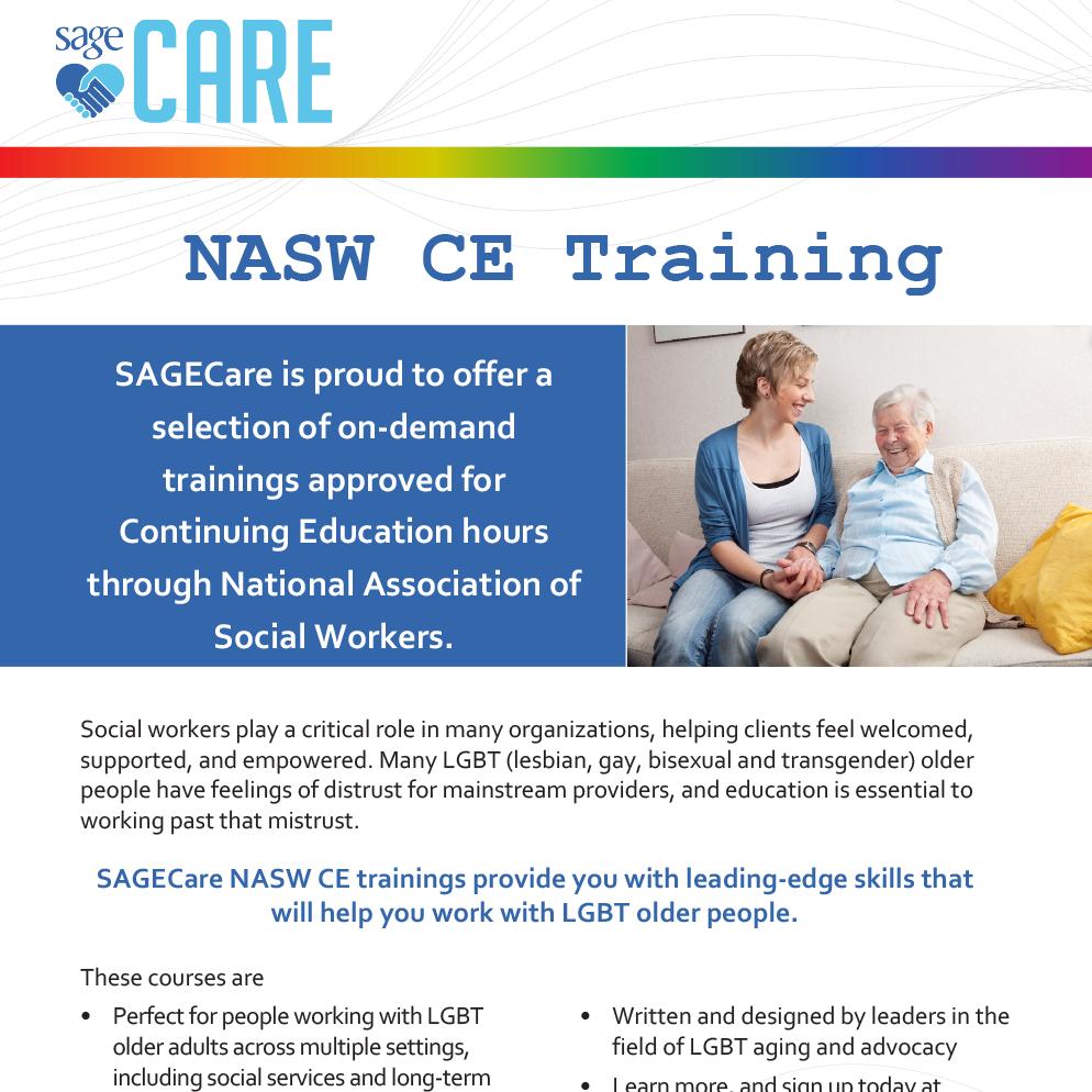 SAGECare-NASW-CE-Training